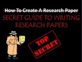 How To Write A Research Paper and Oral Report PowerPoint