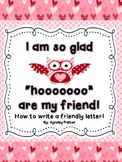 How To Write a Friendly Letter- Valentine's Day Theme