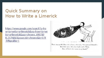 How To Write a Limerick PowerPoint