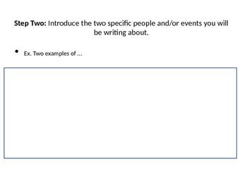 How To Write a NYS Regents DBQ Essay