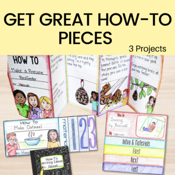 How To Writing Unit for 2nd and 3rd Grade