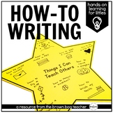 How To Writing: A Hands-On Approach in 1st Grade