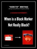 """""""How-To"""" Writing: A Science Experiment Giving Young Writer"""