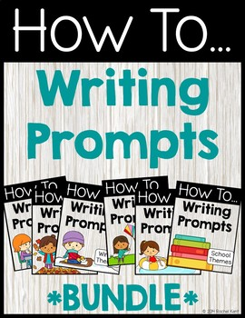 How To Writing Prompts Bundle