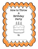 How To Writing- Birthday Party
