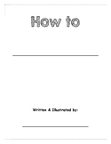 How To Writing Book Template