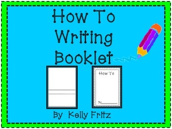 How To Writing Booklets