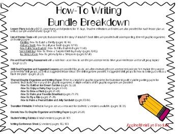 How-To Writing Bundle