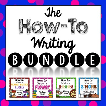 How-To Writing Bundle {Informative Writing}