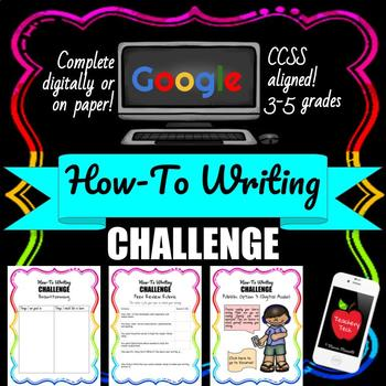 How To Writing No Prep Lesson {Paper or Digital} - Great for End of Year!