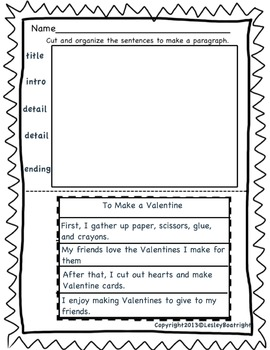 How To Writing For February/March - Transitional Words/Graphic Organizers
