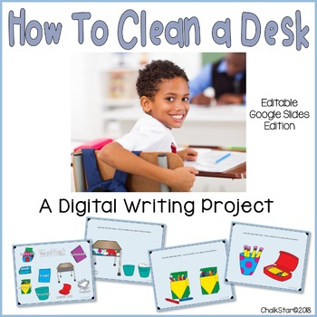 How To Clean a Desk Writing Google Slides™