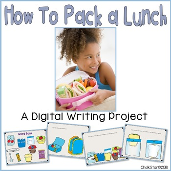How To Pack a Lunch Writing Google Slides™