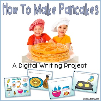 How To Make Pancakes Writing Google Slides™