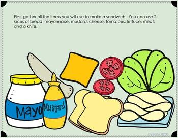 How To Make a Sandwich Writing Google Slides™