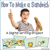 How To Make a Sandwich Writing Google Slides™