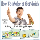 How To Writing Make a Sandwich PowerPoint™