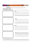 How-To Writing Graphic Organizer
