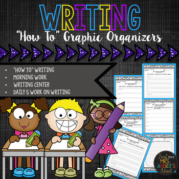 How To Writing Graphic Organizers and Templates
