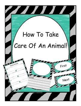 "How-To Writing, ""How To Take Care Of An Animal!"""