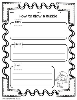 How To Writing- How to Blow a Bubble Gum Bubble