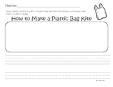 How-To Writing: How to Make a Plastic Bag Kite