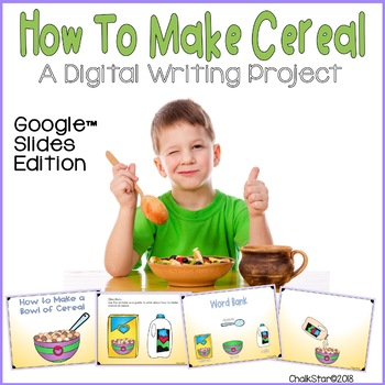 How To Writing Make Cereal Google Slides™