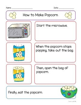 How To Writing - Popping Popcorn