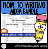 How To Writing Mega Bundle | 40 Differentiated Procedure W