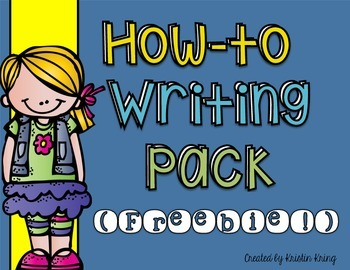 How-To Writing Pack FREEBIE