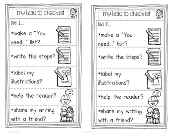 Writer's Workshop: How To Writing Pack by Kim Adsit aligned with Common Core