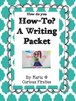 Fancy Nancy Inspired How-To Writing Packet