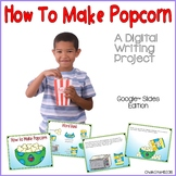 How To Writing Pop Popcorn Google Slides™