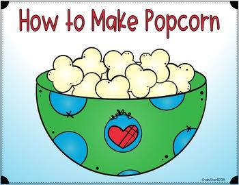 How To Writing Pop Popcorn Google Slides™