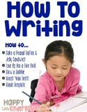 How To Writing: Procedural Writing