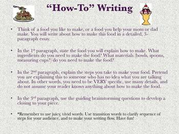 How-To Writing (Prompt & Brainstorm Template)