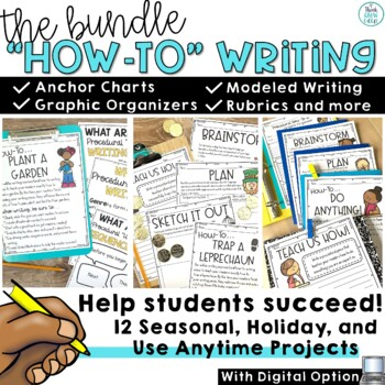 How To Writing Prompt | Procedural Writing Activities