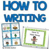 How To Writing Journal Prompts and Station Task Cards