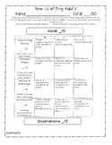 How To Writing Rubric
