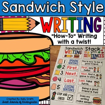 How-To Writing {Sandwich Style Writing}