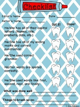 How I Brush My Teeth- Procedural Writing