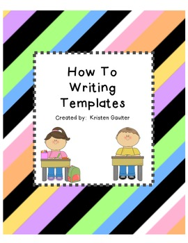 How To Writing Papers/Templates