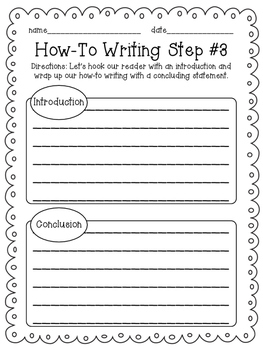 How-To Writing Templates