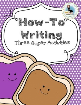 How-To Writing: Three Super Activities including How to Draw!