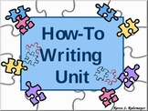 How-To Writing Unit (PowerPoint and Student Packet)