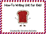 How To Writing Unit for Kids