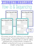 How-To and Sequencing Writing Prompts