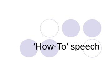 'How To' essay description PowerPoint