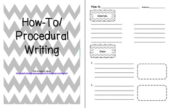 How-To/Procedural Writing