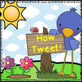How Tweet - Word Wall game